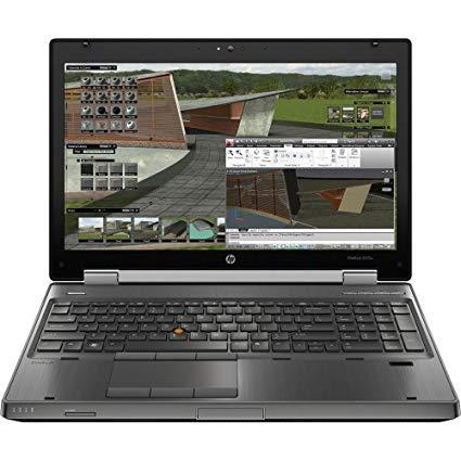 HP WORKSTATION 8570W I7 3720qm RAM 8GB HDD 750GB K1000 15.6 INCH FULL HD