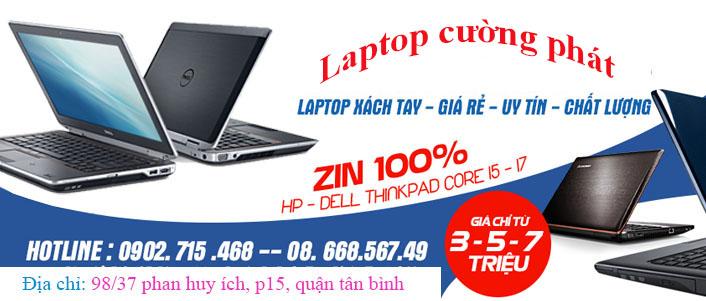 Laptop cường phát